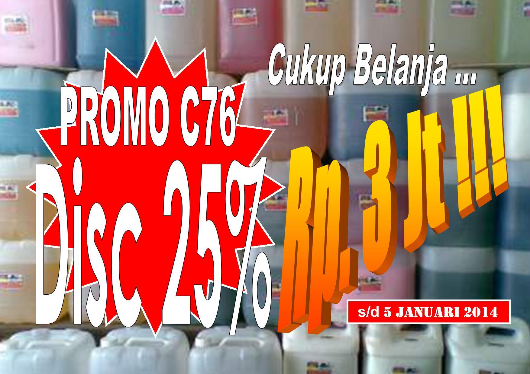 Supplier Sabun Hotel Tsc76tegal Disc 25